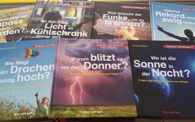 Neue Sachbücher für die Bücherei